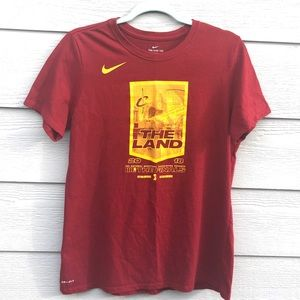 "Nike Cleveland CAVS ""The Land"" Finals Tee Shirt"